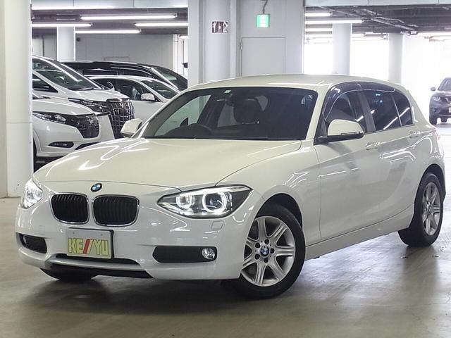 BMW 116i パーキングセンサー iDriveナビ バックカメラ Bluetooth CD・DVD ETC アイドリングストップ ランフラット・純正16インチAW オートAC SPORTモード スペアキー有 禁煙車
