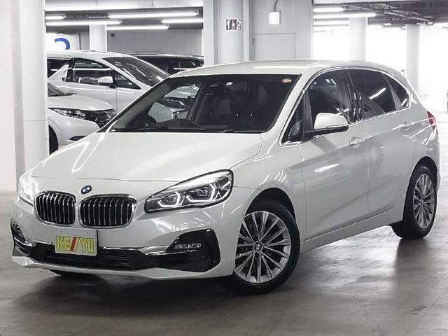 BMW 218iアクティブツアラー ラグジュアリー 革シート HDDナビ バックカメラ ETC2.0 Bluetooth