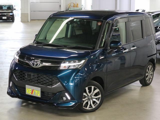 トヨタ カスタムG-T ターボ スマートアシスト2 両側パワースライドドア ドラレコ ClarionSDナビ Bluetooth 12セグTV LEDヘッドライト クルーズコントロール アイドリングストップ 純正15アルミ