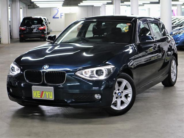 BMW 1シリーズ 116i リアパーキングセンサー iDriveHDDナビ バックカメラ Bluetooth CD・DVD USB・AUX ETC アイドリングストップ キセノンヘッドライト 純正16インチAW 禁煙車