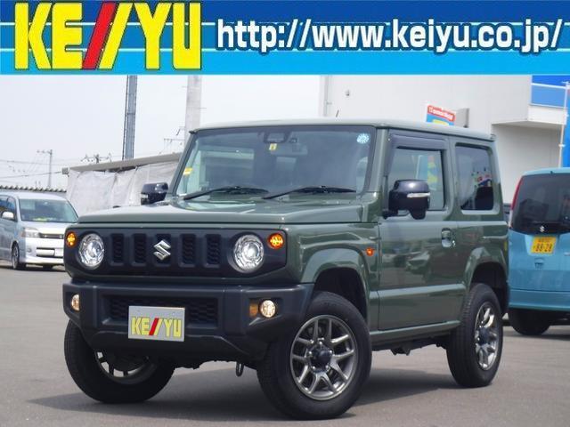 スズキ ジムニー XC 4WD・ドラレコ・社外ナビ・シートヒーター・スマートキー・Pスタート・ETC・LEDライト・フォグ・クルコン・フルセグ・横滑り防止・衝突軽減・レーンアシスト・Bluetooth・純正16インチアルミ