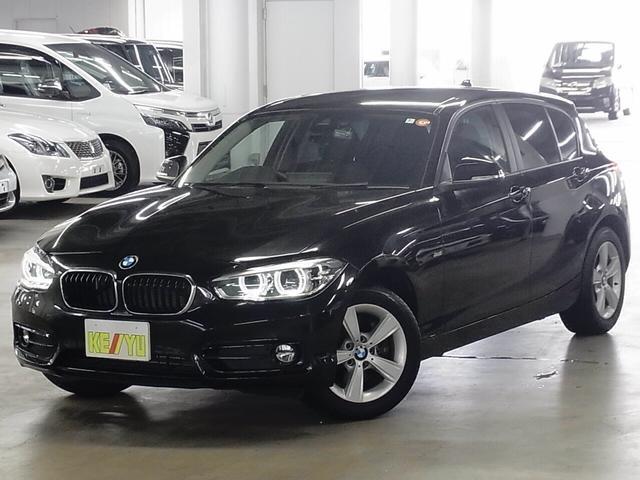 BMW 118d スポーツ 1オーナー ディーゼルターボ インテリジェントセーフティ パーキングセンサー 純正HDDナビ バックカメラ Bluetooth ETC LEDヘッドライト ランフラット スペアキー・記録簿有 禁煙車