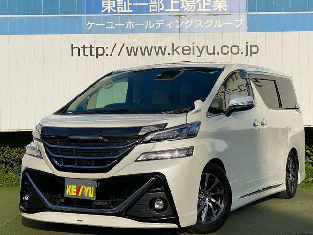トヨタ 3.5V L 社外11インチナビ フリップダウンモニター 純正フルエアロ 電動シート 両側電動スライドドア パワーバッグドア 12セグTV DVD シートヒーター クルーズコントロール LEDヘッドライト 保証書