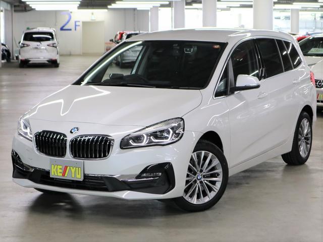 BMW 218dグランツアラー ラグジュアリー ディーゼルターボ アドバンスドアクティブセーフティパッケージ コンフォートパッケージ HUD ドラレコ パーキングアシスト シートヒーター 革電動 パワーバックドア iDrive バックカメラ ETC