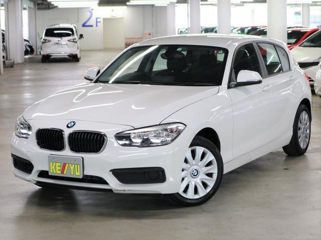 BMW 1シリーズ 118i 1オーナー iDriveHDDナビ Bluetoothオーディオ CD・DVD USB・AUX ミュージックサーバー アイドリングストップ SPORTモード スペアキー・取扱説明書・記録簿有 禁煙車