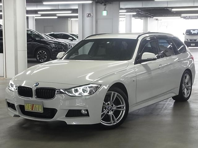 BMW 320iツーリング Mスポーツ 衝突軽減ブレーキ パワーバックドア パーキングセンサー パワーシート クルコン 純正HDDナビ バックカメラ Bluetooth ETC アイドリングストップ パドルシフト コンフォートアクセス 禁煙