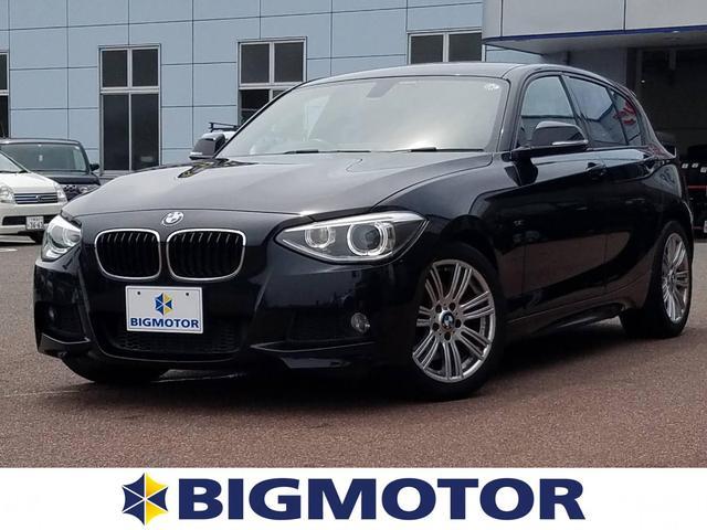 BMW 116i_Mスポーツ 修復歴無 ワンオーナー ETC