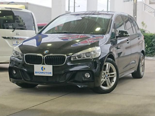 BMW 218dグランツアラーMスポーツ インテリジェントセーフティ