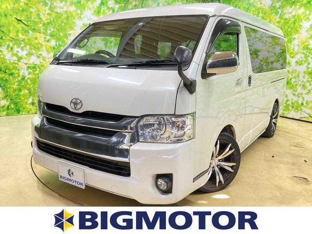 トヨタ GL カーナビゲーション/フリップダウンモニター/ヘッドランプ LED/ETC/ABS/TV/エアバッグ 運転席/エアバッグ 助手席/アルミホイール/パワーウインドウ/キーレスエントリー/オートエアコン