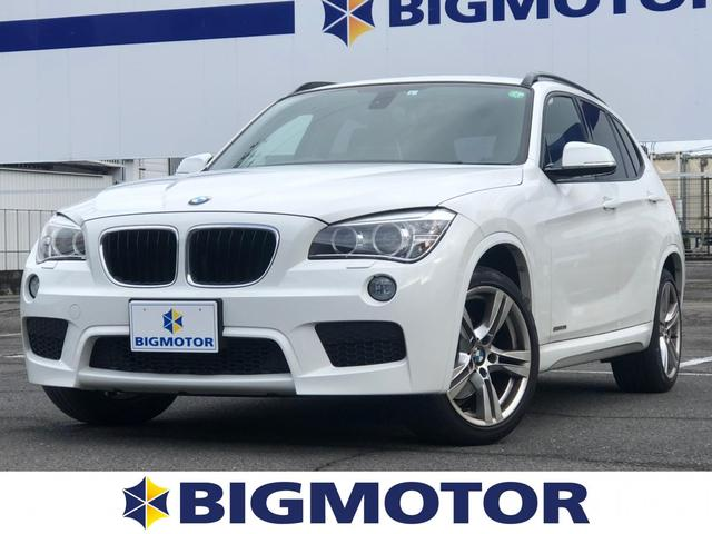 BMW sDrive20i_Mスポーツ 社外 7インチ メモリーナビ/ヘッドランプ HID/ETC/EBD付ABS/横滑り防止装置/アイドリングストップ/TV/ルーフレール/エアバッグ 運転席/エアバッグ 助手席/エアバッグ サイド