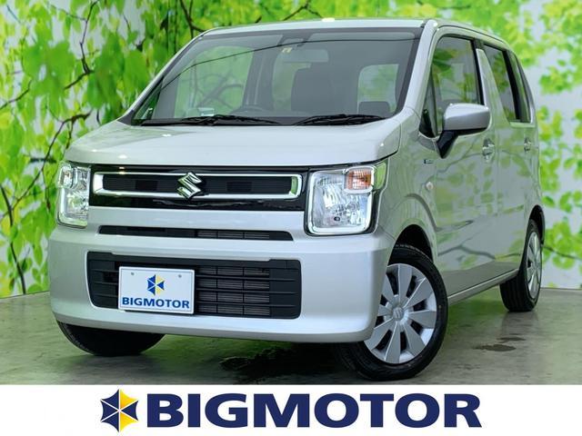 スズキ ワゴンR FX セーフティPKG/オートライト/プッシュスタート/EBD付ABS/横滑り防止装置/アイドリングストップ/エアバッグ 運転席/エアバッグ 助手席/パワーウインドウ/キーレスエントリー/オートエアコン