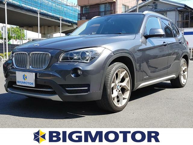 BMW sDrive18i_xライン 純正 HDDナビ/シート ハーフレザー/ヘッドランプ HID/ETC/EBD付ABS/横滑り防止装置/ルーフレール/エアバッグ 運転席/エアバッグ 助手席/エアバッグ サイド/アルミホイール