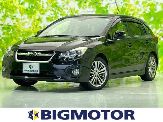スバル インプレッサスポーツ 2.0i-Sアイサイト 社外 7インチ HDDナビ/シート ハーフレザー/車線逸脱防止支援システム/ヘッドランプ HID/ETC/EBD付ABS/横滑り防止装置/アイドリングストップ/TV/エアバッグ 運転席 ワンオーナー