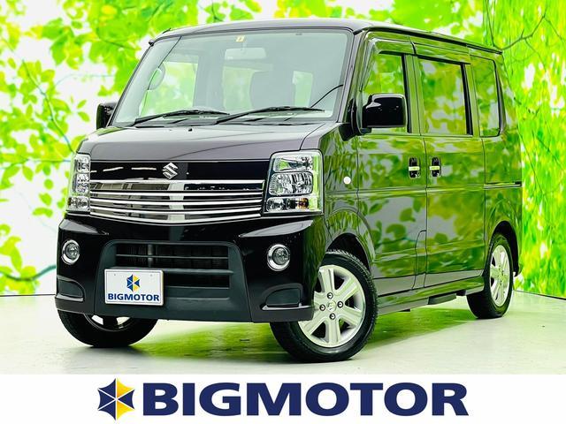 スズキ 4WD PZターボスペシャル 社外 7インチ HDDナビ/両側電動スライドドア/ヘッドランプ HID/EBD付ABS/TV/エアバッグ 運転席/エアバッグ 助手席/アルミホイール/パワーウインドウ/キーレスエントリー 4WD