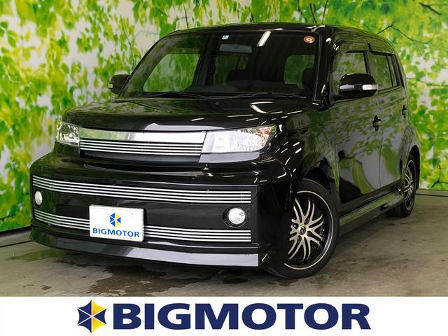 トヨタ bB Z Xバージョンストリートビレット 社外 7インチ メモリーナビ/EBD付ABS/TV/エアバッグ 運転席/エアバッグ 助手席/アルミホイール/パワーウインドウ/キーレスエントリー/オートエアコン/パワーステアリング/ワンオーナー