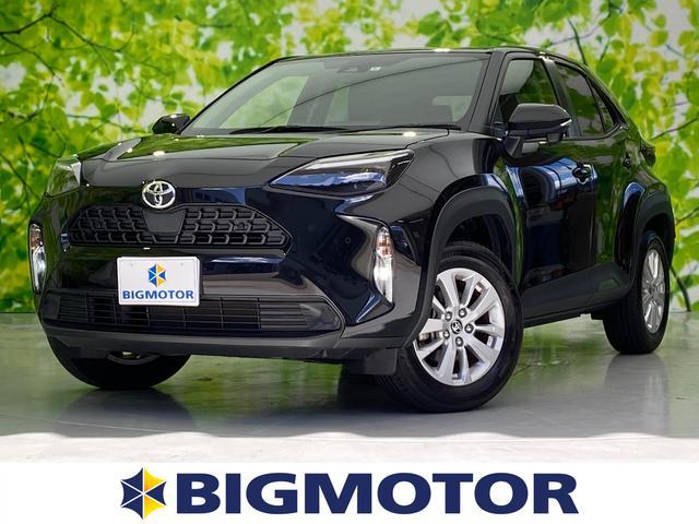 トヨタ ヤリスクロス G 4WD/8インチDAナビ/車線逸脱防止支援システム/パーキングアシスト バックガイド/EBD付ABS/横滑り防止装置/クルーズコントロール/バックモニター/エアバッグ 運転席 バックカメラ