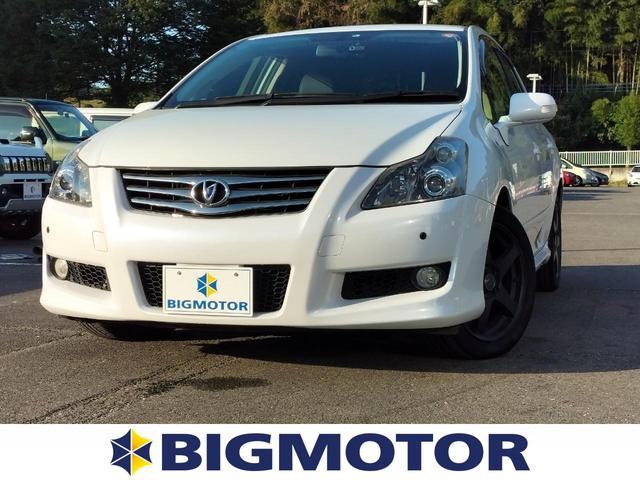 トヨタ G 社外 7インチ メモリーナビ/シート ハーフレザー/ドライブレコーダー 社外/ヘッドランプ HID/Bluetooth接続/ETC/EBD付ABS/横滑り防止装置/バックモニター/フルセグTV