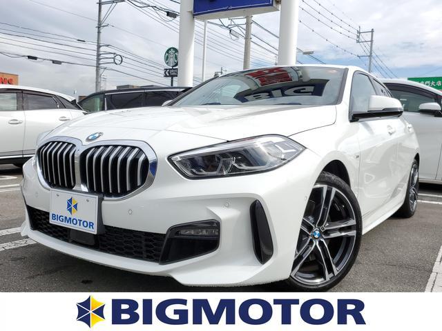 BMW 118i_Mスポーツ 純正 メモリーナビ/衝突被害軽減ブレーキ/車線逸脱防止支援システム/パーキングアシスト バックガイド/電動バックドア/ドライブレコーダー 純正/ヘッドランプ LED/ETC/ABS バックカメラ