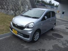 沖縄の中古車 ダイハツ ミライース 車両価格 103万円 リ済別 平成28年 0.4万K ブライトシルバーM