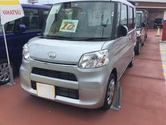 沖縄の中古車 ダイハツ タント 車両価格 120万円 リ済別 平成29年 6K ブライトシルバーM