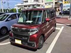 沖縄の中古車 ダイハツ タント 車両価格 163万円 リ済別 平成29年 5K ファイアークォーツレッドM