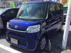 沖縄の中古車 ダイハツ タント 車両価格 122万円 リ済別 平成29年 8K ディープブルークリスタルマイカ
