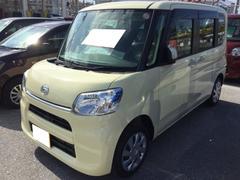 沖縄の中古車 ダイハツ タント 車両価格 118万円 リ済別 平成29年 0.1万K コットンアイボリー