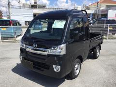 沖縄の中古車 ダイハツ ハイゼットトラック 車両価格 132万円 リ済別 平成30年 5K ブラックマイカM