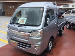 沖縄の中古車 ダイハツ ハイゼットトラック 車両価格 103万円 リ済別 平成29年 33K ブライトシルバーM