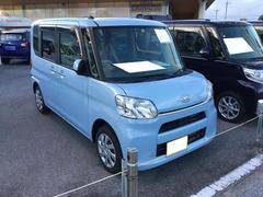 沖縄の中古車 ダイハツ タント 車両価格 117万円 リ済別 平成28年 0.6万K シルキーブルーパール