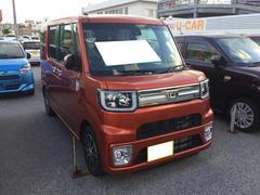 沖縄の中古車 ダイハツ ウェイク 車両価格 167万円 リ済別 平成29年 6K トニコオレンジM