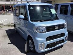 沖縄の中古車 ダイハツ ウェイク 車両価格 139万円 リ済別 平成29年 7K ミストブルーマイカM