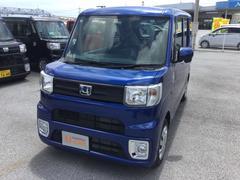 沖縄の中古車 ダイハツ ウェイク 車両価格 133万円 リ済別 平成29年 8K ブルーマイカM