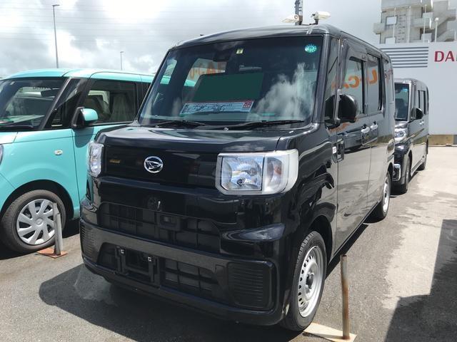 沖縄の中古車 ダイハツ ハイゼットキャディー 車両価格 120万円 リ済別 平成28年 1.0万km ブラックマイカM