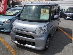沖縄の中古車 ダイハツ タント 車両価格 131万円 リ済別 平成29年 0.3万K ブライトシルバーM