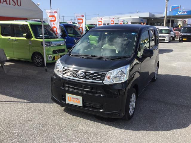 沖縄の中古車 ダイハツ ムーヴ 車両価格 126万円 リ済別 平成29年 0.6万km ブラックマイカM