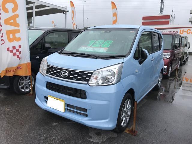 沖縄の中古車 ダイハツ ムーヴ 車両価格 128万円 リ済別 平成29年 0.5万km シルキーブルーパール