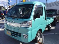 沖縄の中古車 ダイハツ ハイゼットトラック 車両価格 105万円 リ済別 平成30年 0.2万K ファインミントM