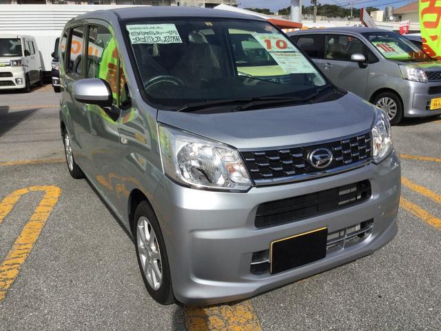 沖縄の中古車 ダイハツ ムーヴ 車両価格 119万円 リ済別 平成29年 1.1万km ブライトシルバーM