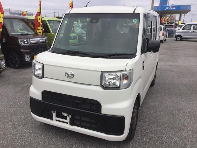 沖縄の中古車 ダイハツ ハイゼットキャディー 車両価格 120万円 リ済別 平成28年 0.1万km ホワイト