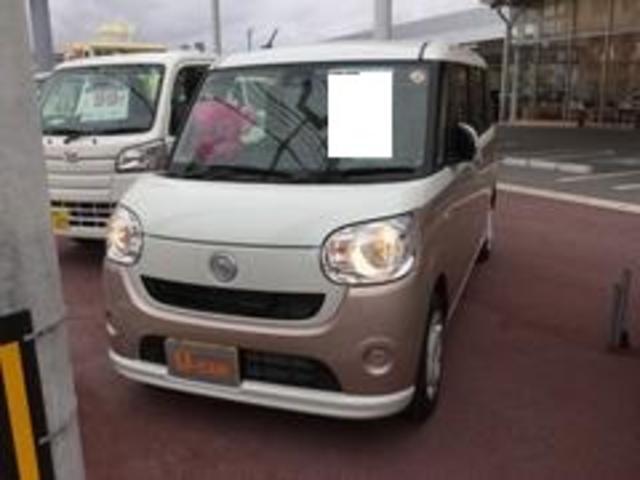 沖縄の中古車 ダイハツ ムーヴキャンバス 車両価格 144万円 リ済別 平成29年 0.5万km W24 X T29