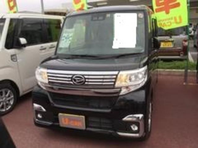 沖縄の中古車 ダイハツ タント 車両価格 155万円 リ済別 平成29年 0.7万km ブラックマイカM