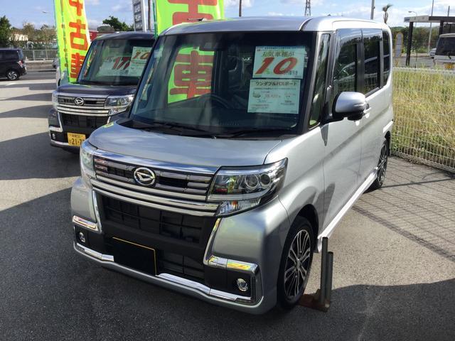 沖縄の中古車 ダイハツ タント 車両価格 175万円 リ済別 平成29年 0.4万km ブライトシルバーM
