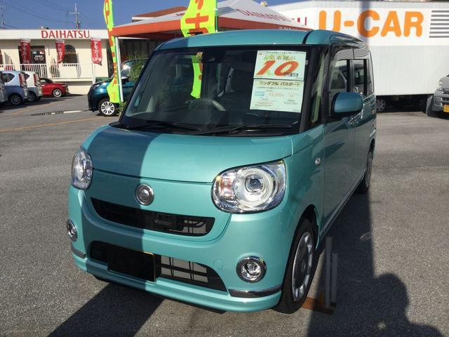 沖縄の中古車 ダイハツ ムーヴキャンバス 車両価格 149万円 リ済別 平成29年 0.3万km ファインミントM