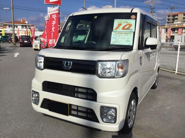 沖縄の中古車 ダイハツ ウェイク 車両価格 132万円 リ済別 平成29年 0.6万km パールホワイト3