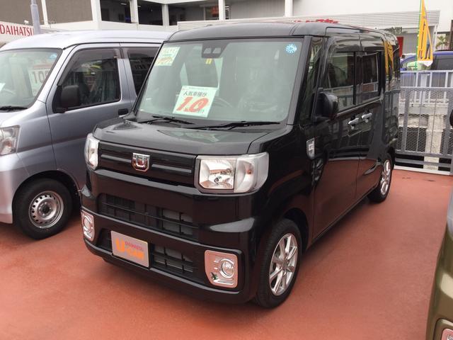 沖縄の中古車 ダイハツ ウェイク 車両価格 153万円 リ済別 平成30年 0.2万km ブラックマイカM