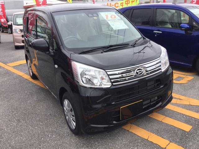 沖縄の中古車 ダイハツ ムーヴ 車両価格 122万円 リ済別 平成30年 0.3万km ブラックマイカM