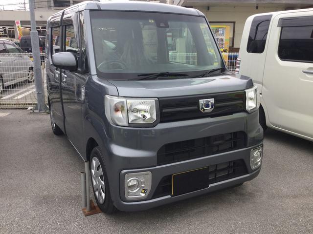 沖縄の中古車 ダイハツ ウェイク 車両価格 137万円 リ済別 平成29年 0.4万km タングステングレーM