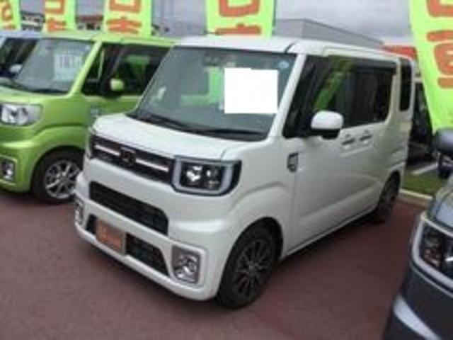 沖縄の中古車 ダイハツ ウェイク 車両価格 167万円 リ済別 平成30年 0.3万km パールホワイト3