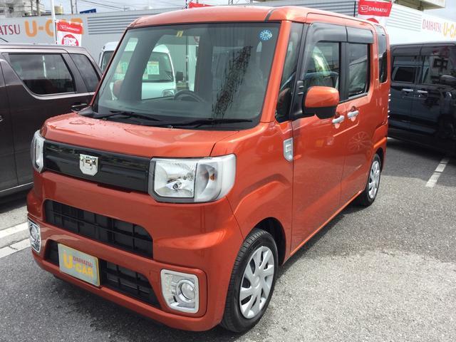 沖縄の中古車 ダイハツ ウェイク 車両価格 133万円 リ済別 平成30年 0.3万km トニコオレンジM